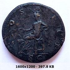 Dupondio de Adriano. COS III / S C. Salus 954954a7f9c3191ce9b40240235d6333o