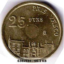 25 pesetas 1993 sin taladro central 97fbb41b1fd92d1fafc41d7da5e2e593o