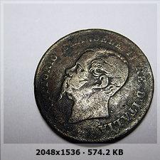 Italia, 5 Centesimi, Vittorio Emanuelle II, 1861. 999db5b56a1443e71bdb37d4bef2fac3o