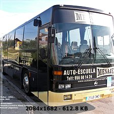 Autobuses en autoescuelas. Ad239631308f84568d208245d4c4e60eo