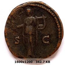 As de Antonino Pío. S C. Apolo estante con lira y pátera. B9333f18377a623c08f8cd2f4af1a4f1o