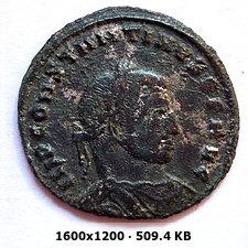 Nummus de Constantino I el Grande. IOVI CONSERVATORI AVGG NN. Siscia C122cc0a53a7d82063eca7d42be22d62o