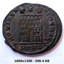 AE3 de Constantino I. PROVIDENTIAE AVGG. Trier C57e1784b2b86f40be0f17aed8184f70o