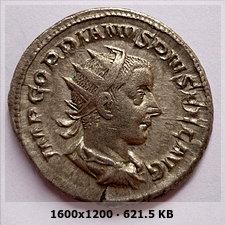 Antoniniano de Gordiano III. P M TR P V COS II P P. Apolo, ceca de Roma. C6d75d41979eea042d4cd1c99ce5ce9do