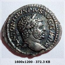 Denario de Caracalla.  P M TR P XX COS IIII P P.  Sol Cfa886ab2e6f04eac97324d69fe92728o