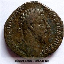 Sestercio de Marco Aurelio. IMP VIIII COS III P P / S C. Annona D32025118260140ec3fd07e09b2c1347o