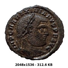 Nummus de Maximiano Hércules. GENIO POPVLI ROMANI. Heraclea D58438586c01e1cd1703c9264c20c2c5o