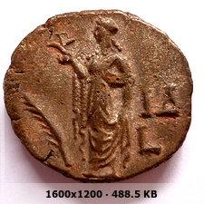 Tetradracma de potín de Salonina. Alejandría De744996cddd9df77a5e5e03a73784beo