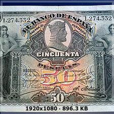50 pesetas 1907 E2baf614df073438c9e78e181913a8ado