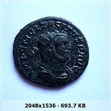 Aureliano de Tácito. PROVIDENTIA DEORVM. Siscia  Fceb5d54e25f898cc34a456203a74d5bo