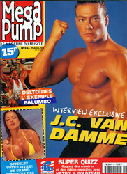 Жан-Клод Ван Дамм (Jean-Claude Van Damme)- сканы из разных журналов Cine-News C97683783205183