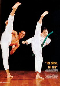 Жан-Клод Ван Дамм (Jean-Claude Van Damme)- сканы из разных журналов Cine-News 8b33f4800330583