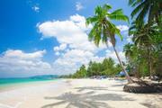 Тропический остров и пляж / Beautiful tropical island and beach 9b0e9f1190117104