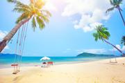 Тропический остров и пляж / Beautiful tropical island and beach 8c9fbe1190119974