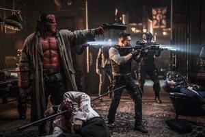 Хеллбой: Возрождение кровавой королевы / Hellboy (2019)Дэвид Харбор ,Мила Йовович 81cf841149383514