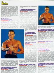 Жан-Клод Ван Дамм (Jean-Claude Van Damme)- сканы из разных журналов Cine-News E91697783205773