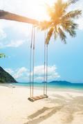Тропический остров и пляж / Beautiful tropical island and beach 74f82a1190120314