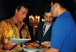 Жан-Клод Ван Дамм (Jean-Claude Van Damme)- сканы из разных журналов Cine-News 592238783202153