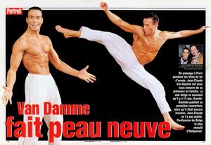 Жан-Клод Ван Дамм (Jean-Claude Van Damme)- сканы из разных журналов Cine-News 144110800329433