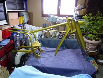 Restauration MONDIAL 125cc Champion Lusso. 54f99d688715893