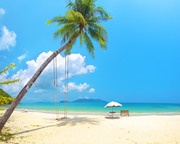 Тропический остров и пляж / Beautiful tropical island and beach 285a781190117044