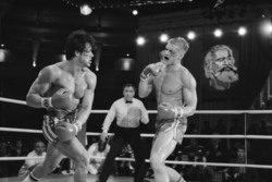 Рокки 4 / Rocky IV (Сильвестр Сталлоне, Дольф Лундгрен, 1985) - Страница 3 3a66ce958166894