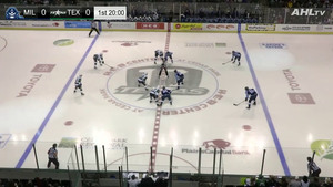 AHL 2018-10-06 Milwaukee Admirals vs. Texas Stars - English 7fd4dc995251714