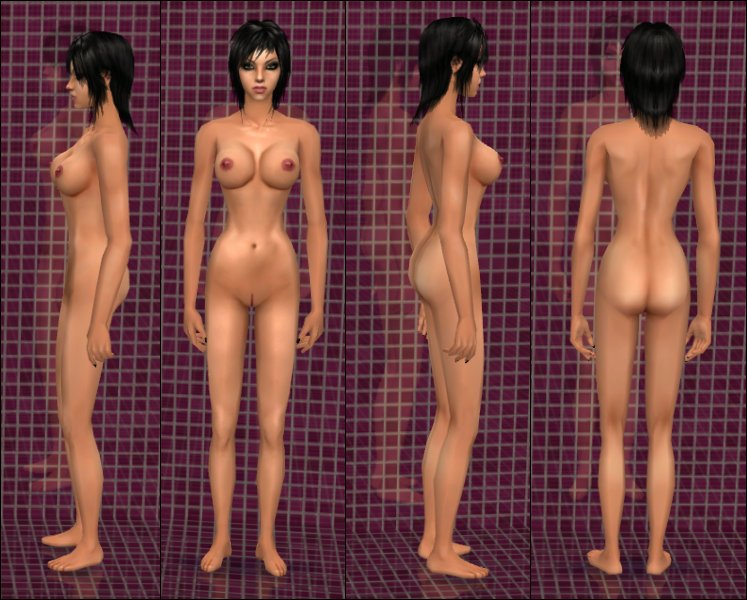 Nude female replacement skin