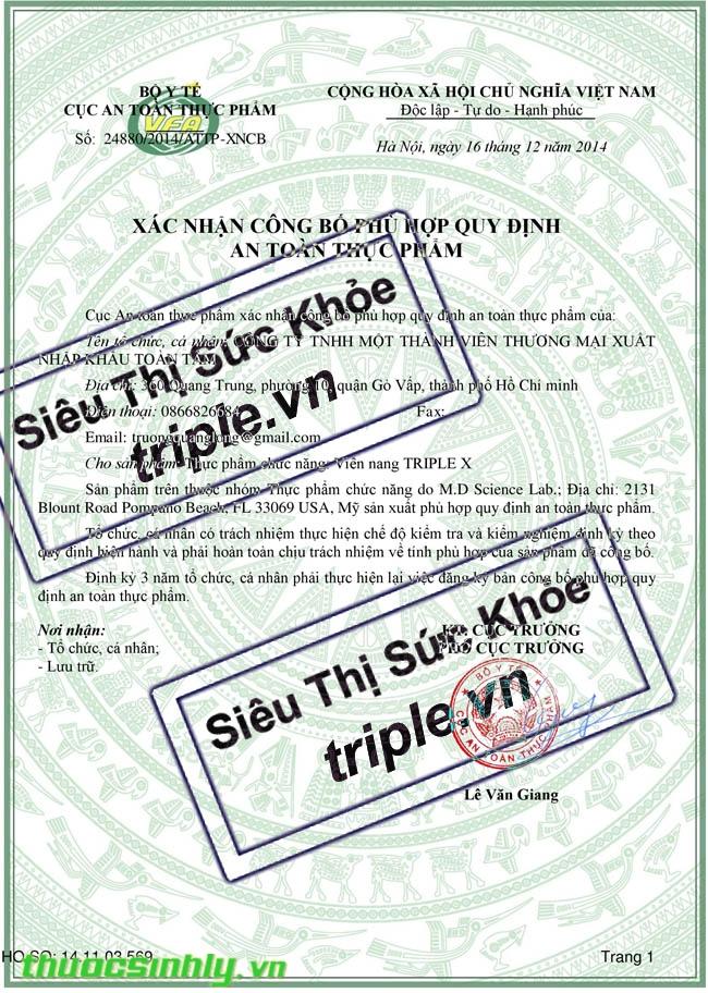 Topics tagged under 1 on Diễn đàn Tuổi trẻ Việt Nam | 2TVN Forum - Page 2 Giay_cong_bo_triple