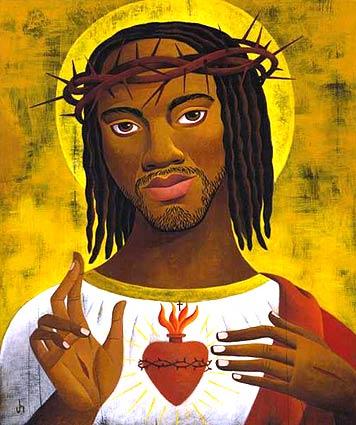 Jésus était un Négro/ NOIR Black-jesus-sacred