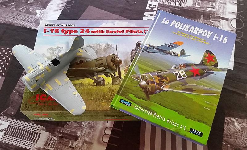 """L'Aviation Russe"" Polikarpov I-16 type 24, ICM 1/32 Poli_001"