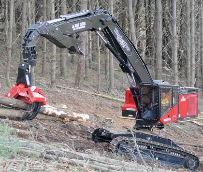 Timber Pro macchine forestali TL765D