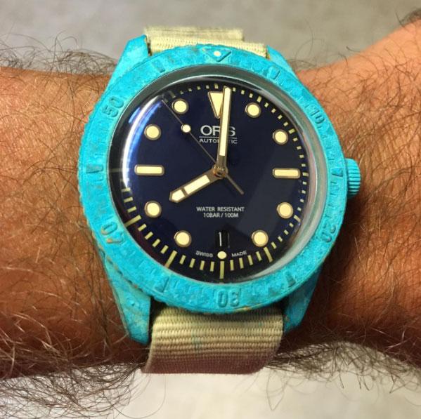 Les matériaux de nos montres - Partie IV : le Bronze Oris-Bronze-Carl-Brashear-LE-8-1