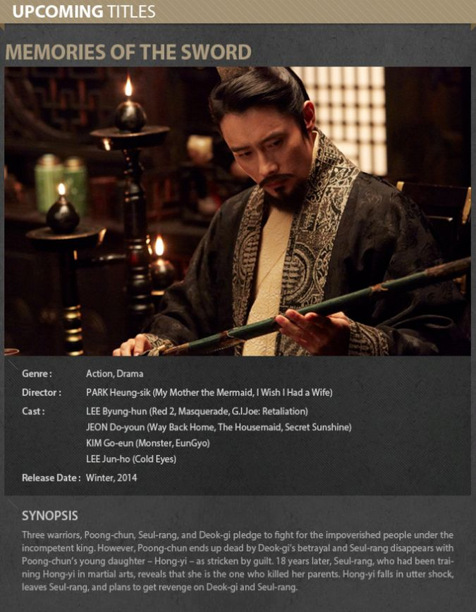 Lee Byung Hun / Ли Бен Хон не пьет одеколон  - Страница 5 Memories_of_the_sword