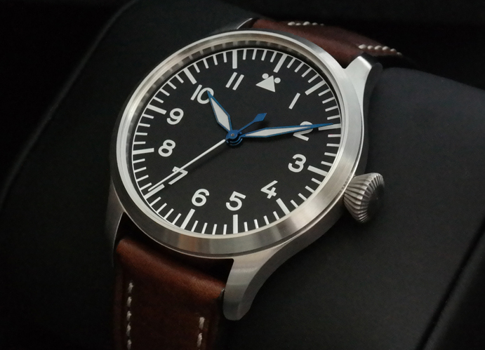 flieger - Montre type Flieger petit budget Tisell-40mm-10