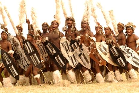 افريقيا  صور المحاربين القدام Zulus