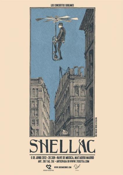 Los posters de los conciertos  16083_description_shellac