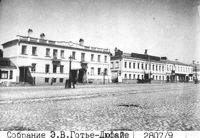 Исторические снимки старой Москвы Эмиля Владимировича Готье-Дюфайе 69b7eb0d3de3e47f7d7b51cbedb161a9