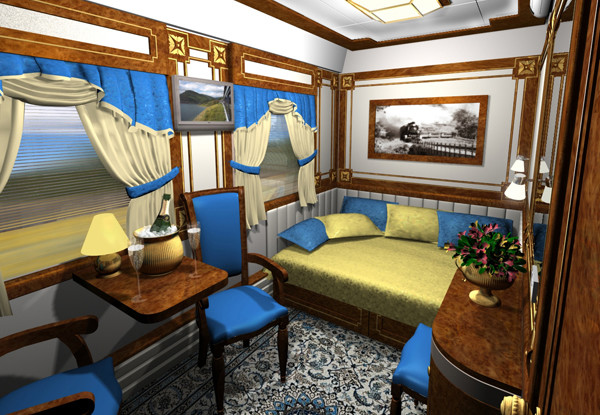 Путешествие на поездах повышенного комфорта 024