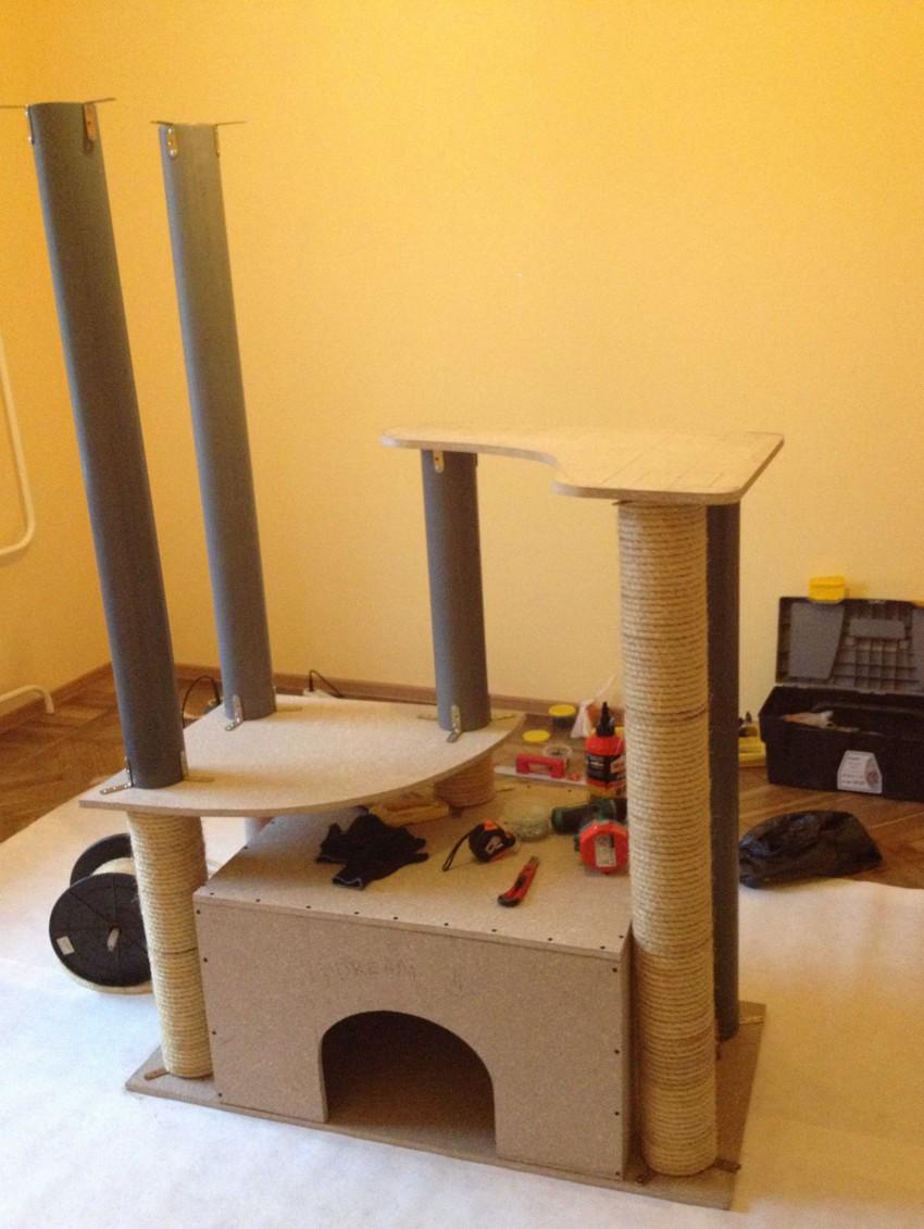 Самодельный домик для кота 9d54afb85a74adb1ac2f861bb625dfe1