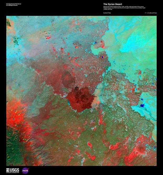Потрясающие спутниковые фотографии Земли B7f1776199af2f081ea76e9abc6c605d