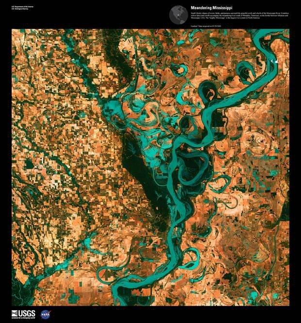Потрясающие спутниковые фотографии Земли B803b063450c750005a4c667b2d6f2de