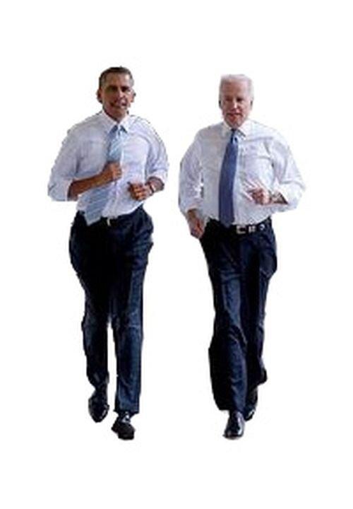 Фотожабы на пробежку Обамы и Байдена по Белому Дому 3280158