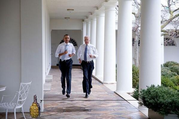 Фотожабы на пробежку Обамы и Байдена по Белому Дому 349e7854dec819b0fd940f8b8ba08e6b