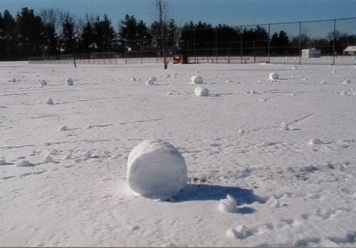 Снежные рулоны — зимний феномен 4_rulon