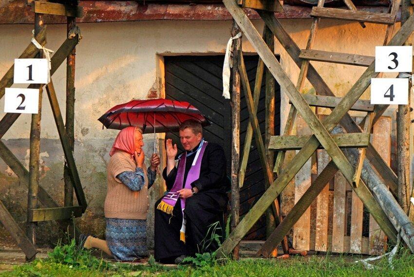 Жизненные фотографии белорусских деревень 559185ecf5058711fd53227fc5915801