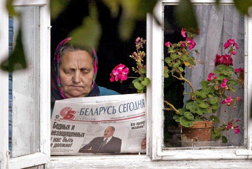 Жизненные фотографии белорусских деревень 56184296f7299b85a99a8edd48cede56