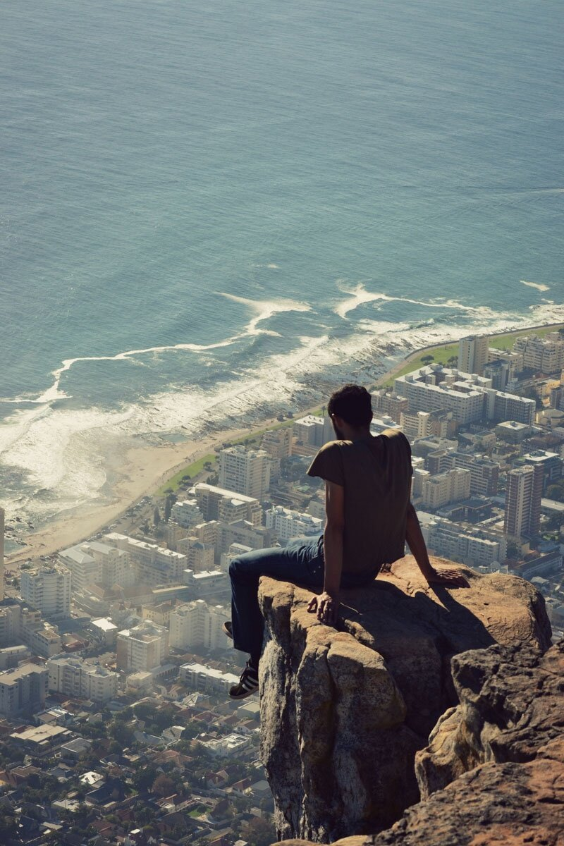 Фото, от которых у вас подогнутся колени Lions-head-hike-overlooking-cape-town-south-africa