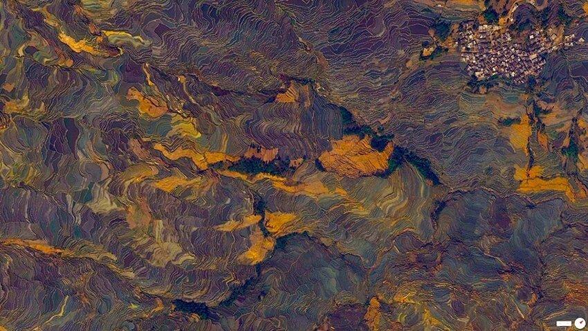 Невероятные снимки со спутника. Satellite-aerial-photos-of-earth-28