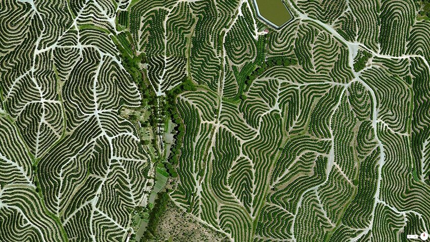 Невероятные снимки со спутника. Satellite-aerial-photos-of-earth-9